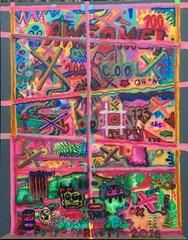 'Emopsy ' (2016) 60 x 48 inches.  Acrylic on canvas #jeffparrott #psyexpression #jeffparrottart #psyexpressionism #emojipsy #contemporaryart Jeff Parrott (jeffpaarrott) Tags: jeffparrott psyexpression jeffparrottart psyexpressionism emojipsy contemporaryart