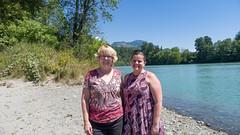 Laura and Casper (RandomConnections) Tags: cascades northerncascades skagitcounty skagitriver washington