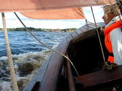 Sjægte sailing (Jaedde & Sis) Tags: hjarbæk jensfuurbo sis sailing racing water speed challengefactorywinner thechallengefactory