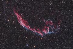 Eastern Veil Nebula (NGC 6992) (Szendrői Gábor) Tags: veilnebula nebula supernovaremnant space stars sky nightsky