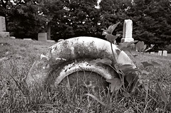 Sinking In (drei88) Tags: fairview grounded sinking weight life death cemetery forlorn lingering searching