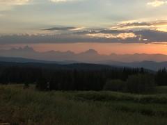 Teton sunset (nimbus55) Tags: grandtetonnationalpark tetons grandtetons wyoming mounains landscape sunset