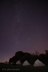 Camping under the stars, Manor Farm Campsite, Upton Cheyney (T J G photography) Tags: camping tent camp 1424 nikkor bristol milky way nikon 2016 upton cheyney d610 manor farm andromeda pleiades