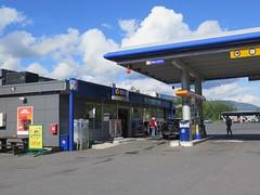 Statoil på rastplats i Gulsvik utmed väg 7 i Norge 2016 (biketommy999) Tags: buss bus bussresa biketommy biketommy999 2016 norge gulsvik statoil bensinstation rastplats privat sverige sweden