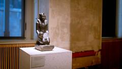 Neues Museum (Berlin) (dirksachsenheimer) Tags: neuesmuseum berlin museumsinsel sammlung ausstellung geschichte nikon d800 sigma35mmf14dghsm sigma dirksachsenheimer blackandwhite schwarzweis monochrom sw egypt deutschland museum kunst germany exhibition egyptianart egyptian art
