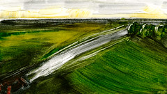 route 03 (Frdric Glorieux) Tags: frdricglorieux route road a4 acryl
