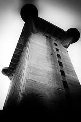 Flaktrme im Wiener Augarten (AD2115) Tags: wien melk stift kloster kirche hundertwasser vienna danube donau flakturm turm heizwerk mllverbrennung treppe stiege wendeltreppe
