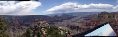 Grand Canyon, North Rim (elkit) Tags: panorama grandcanyon northrim brightangelpoint brightangelcanyon