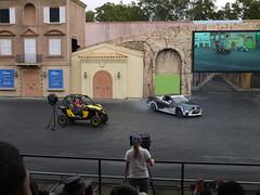 Stunt Car Show at Movie World 2 (Yortw) Tags: world show car movie lumix australia panasonic qld april stunt goldcoast 2015 oxenford microfourthirds dmcg10