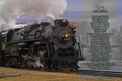 Train (casarahnance) Tags: county camera lake train clare poem harrison thomas houghton quill irishfest poetryart nance roscomon casarah acameraandaquillcom
