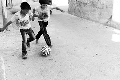 L9983325 (MarwanShousher) Tags: kids children football soccer refugee amman middleeast streetphotography jordan un arab