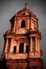 Malaga, su Catedral (annamaria_iezzi) Tags: espaa andaluca spain catedral campanile reloj andalusia orologio malaga architettura spagna cattedrale orloge