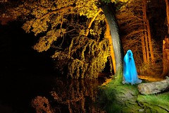The other side (palateth) Tags: lightpainting lightart night belgique belgie belgium urbex urbanexploration blue duat passer ghost