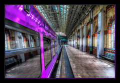 Window Reflections (Kevin From Manchester) Tags: windows station architecture train manchester northwest transport lancashire hdr piccadillystation canon1855mm plantform kevinwalker