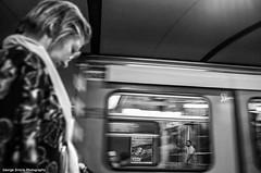 (Giorgos-S) Tags: urban blackandwhite subway fuji streetphotography athens x100