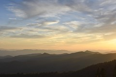 Sunset along the Blue Ridge Parkway, North Carolina (jkrieger84) Tags: landscape nature sunset nikon d500 blueridgeparkway mountains