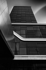 Amsterdam RAI II (mg photography2) Tags: city urban white black holland building netherlands monochrome amsterdam architecture clouds canon mono office europe long exposure architectural rai canonuk