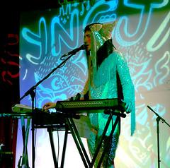 rockcamp2 (zuzu knew) Tags: rockcampforgirlsmontreal syngja cello keyboard projections langamma lasalarossa montrealband montrealmusic fringe costume zuzuknew