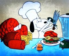 Who wants a sandwich? (e r j k . a m e r j k a) Tags: whimsy sandwich snoopy erjkprunczyk