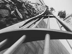 Cock/Ver10 (Ovais M) Tags: city blackandwhite bw white black streets architecture buildings photography design dubai uae structure minimal rak bnw citywalk iphone jbr dubaimall festivalcity iphone6s mydubai