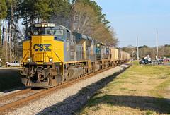 Big Logo ACe (weshendrix) Tags: csx abbeville subdivision atlanta division train railfan railroad freight grain statham ga georgia emd sd70ace outdoor engine diesel locomotive