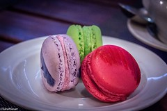 Bouquet of sweet delights. Macaroons: Lavendar: Blueberry Pink: Raspberry Green: Kiwi and Apple (!!) (WhyCallSarah) Tags: july 23 2016 1002pm bouquet sweet delights macaroons lavendar blueberry pink raspberry green kiwi apple