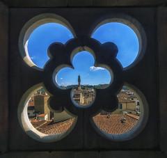 Finestra con vista (forastico) Tags: finestra firenze toscana palazzovecchio d3200 forastico