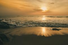 Gold (BALAJI SEETHARAMAN) Tags: kovalam cwc540 chennaiweekendclickers chennai nammachennai mychennai morning golden sunrise sunlight view waves canon600d 1855mm canon beacheslandscape