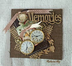 Handmade Tag Card - Memories (n2photos2009) Tags: brad corner virginia tag border memories july stitches ribbon hampton jewels clocks burlap cardstock handmadecard 2016 rmay n2photos sheergreenribbon lovechallenge7 love–handmadecardsatc'sothercrafts