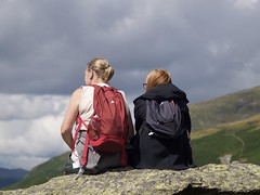 Hiking (Stigger1969) Tags: hiking cumbria grasmere mountains resting walkers