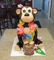 July 13, 2016 [photo by Alan] (1) (gaymay) Tags: california birthday gay friends party love cake desert palmsprings leis alohashirt surprisebirthdayparty