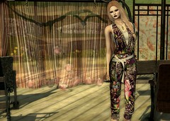 Outdoor Stage (Jamee Sandalwood - Miss V SWEDEN 2015) Tags: art artphotography blog blonde blogger blogged lavian envogue hair jumpsuit summer outside outdoors stage catwa maitreya mesh pixel on9 hairfair