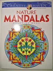 Nature Mandalas Coloring Book (Lynne M. B.) Tags: art illustration drawing coloring coloredpencils prismacolor coloringbook mandalas coloringadults