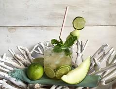 Mojito con melon6 (martatrini) Tags: mojito melon drink coctail summer beach