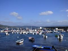 Puerto de Fisterra (juantiagues) Tags: puerto barcos galicia finisterre fisterra juanmejuto juantiagues