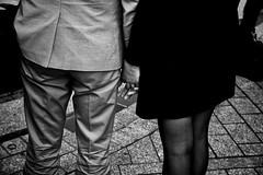 . (Thorsten Strasas) Tags: france berlin germany de nice frankreich flag streetphotography embassy terror vigil fahne flagge nizza halbmast gedenken botschaft schwarzweis trauerfeier strassenfotografie