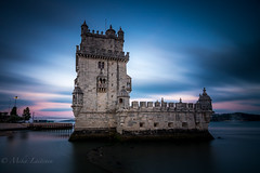 Belem (Mika Laitinen) Tags: canon7dmarkii europe portugal outdoor summer lisboa pt belem longexposure tokina1116mm leefilters stopper leendgrad sea ocean sunset twilight nightfall leebigstopper shore