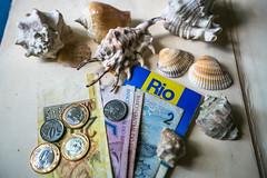 Rio De Janeiro (Tati___Tata) Tags: brazil riodejaneiro rio real money travel map ocean summer vacation copacabana cristo redentor    brasil          beach sea souvenirs tourism guide shell shells south america latino