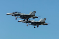 RCAF CF-188B Hornet 188937 & 188935 (CharlieOscar98) Tags: mcdonnell douglas boeing cf18 cf188b 188937 188935 410 squadron cougar