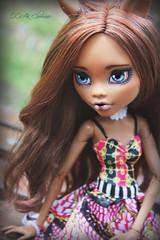 IMG_8323 (Cleo6666) Tags: mattel monsterhigh monster high clawdeen clawdeen17 ooak custom repaint doll