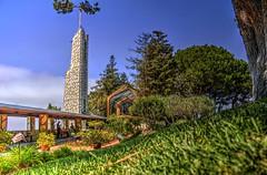 Wayfarers Chapel Ant's Eye View (Michael F. Nyiri) Tags: ranchopalosverdes california southerncalifornia