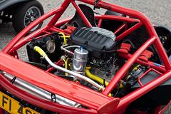 Aerial Asbo - Engine (torquayadam) Tags: canon 5d mark ii mk2 bristol motor club family sports car day 2016 24 july aerial asbo f1 red