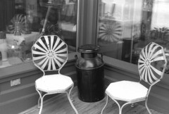 milk jug (bergytone) Tags: analog film bw olympus om2 om2n om series zuiko 50mm kentmere 100 xtol kalamazoo michigan charis milk jug