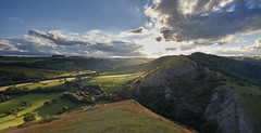 Thorpe Cloud (IanMcConnachie) Tags: thorpecloud dovedale peakdistrict peakdistrictnationalpark canonef1740mm sunset clouds hills grass rocks summer ashbourne sheep greenfields leefilter limestonehill nationaltrust midlands areefknoll bunsterhill trees