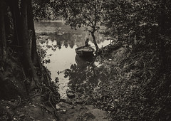 The Boatman (Rahman Saad) Tags: boat boatman waiting