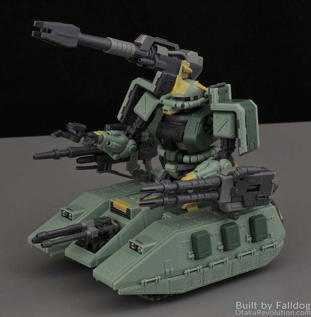 Motor King - 1-100 Zaku Tank Review 11 by Judson Weinsheimer