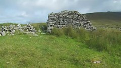 Searching for Signs of Life.. (Michael C. Hall) Tags: ireland mayo achill island slievemore dugort deserted village stone cottage traditional derelict ruin overgrown mountain