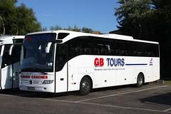 GB Tours GB10 URS (johnmorris13) Tags: gbtours pulhams gb10urs mercedes tourismo coach