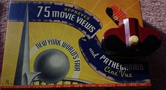 "Souvenirs of 1939-1940 N.Y.W.F. ""The World of Tomorrow"" IMGP3527 (catchesthelight) Tags: pathegrams cinevue newyorkworldsfairsouvenir graphics oldbox 1930s advertising exclusivelylicensedbythenewyorkworldsfair1939 copyrighted movieviewer deco box 1939nyworldsfair 1939nycworldsfair 1939photos bw nywf souvenirs buildings miniphotos handheldshots notscans modern perisphere theworldoftomorrowtoday trylon"