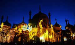Dr Blighty - Brighton Pavilion (Mark Wordy) Tags: drblighty brightonhove royalpavilion brightonfestival 2016 projections lightshow nutkhut art fire
